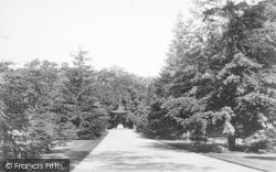 Sandringham, North Terrace And Pagoda 1896