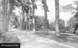 Sandringham, Royal Walk From The House To Church c.1930