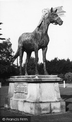 Statue Of Persimmon, 1896 Derby Winner c.1955, Sandringham