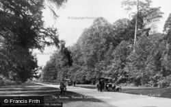 Sandringham, The Avenue, Norwich Gates c.1930