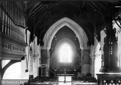 The Church, Interior 1896, Sandringham