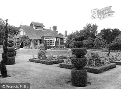 The Dutch Gardens And The Dairy 1927, Sandringham