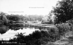 Sandringham, The Lake In The Park c.1930