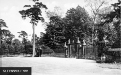 Sandringham, The Norwich Gates c.1931