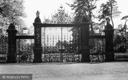 The Norwich Gates c.1955, Sandringham