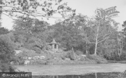 Sandringham, The Old Summer House And The Lake c.1955
