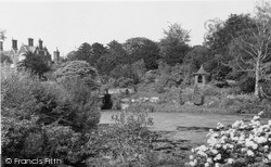 The Old Summer House And The Lake c.1955, Sandringham
