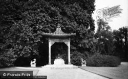 Sandringham, The Pagoda In Grounds c.1930