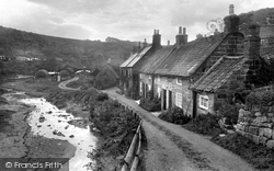 Sandsend, Brook View 1925