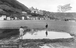 Sandsend, Children On The Beach 1925