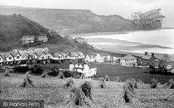 Sandsend, Harvest Field And Kettleness Nab 1925