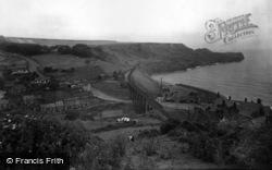 Sandsend, Showing Lythe Bank 1932