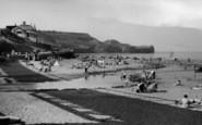 Sandsend, The Beach c.1955