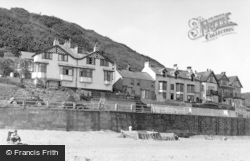 Sandsend, The Promenade And The Beach c.1955