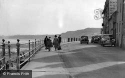 Sandsend, The Promenade c.1955