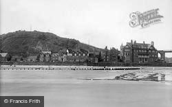 Sandsend, The Sands And The Parade 1925