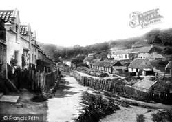 Sandsend, The Village c.1885