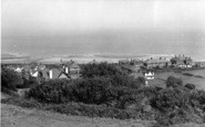 Sandsend, View From The Heights c.1955