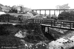 Sandsend, Wood Bridge c.1885