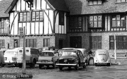 Sandwich, Parked Cars, The Guildhall c.1960