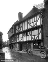 Sandwich, Pilgrim's House 1924