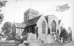 Sandwich, St Clement's Church 1894