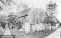 Sandwich, St Clement's Church 1924