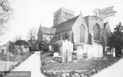 Sandwich, St Clement's Church c.1910