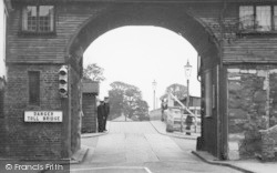Sandwich, The Barbican Toll Bridge c.1955