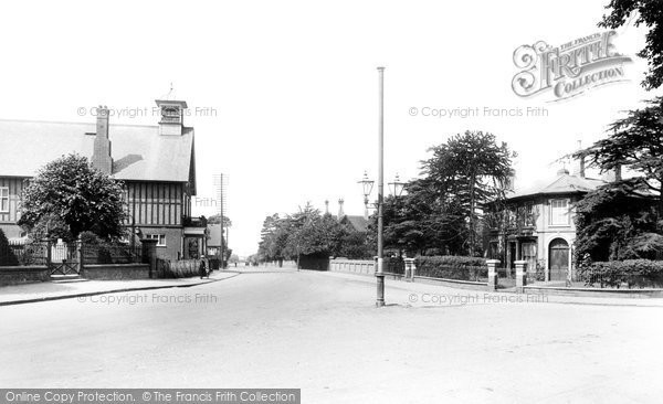 Photo of Sandy, Bedford Road 1925