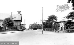Sandy, Bedford Road 1925