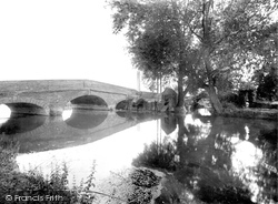 Sandy, Girtford Bridge 1925