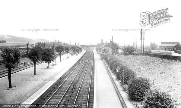 Photo of Sandy, Railway Station 1925