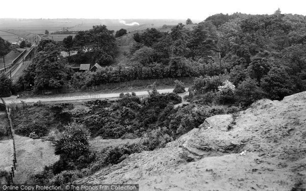 Photo of Sandy, Sandhills 1929