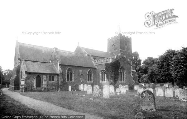 Photo of Sandy, St Swithin's Church 1925