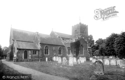 Sandy, St Swithin's Church 1925