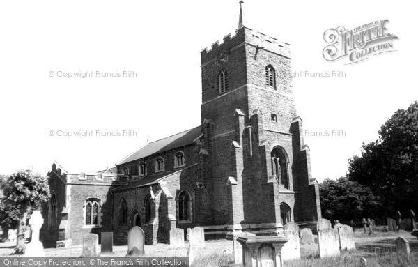 Photo of Sandy, St Swithun's Church c.1955