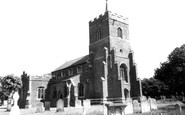 Sandy, St Swithun's Church c1955