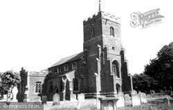 Sandy, St Swithun's Church c.1955