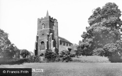 Sandy, The Church c.1965