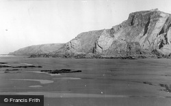 Sandymouth, 1949