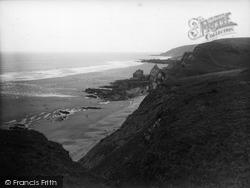 Sandymouth Beach, 1938