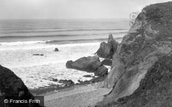 Sandymouth, Rocks c.1933