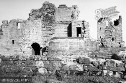 Sanquhar, Castle 1951