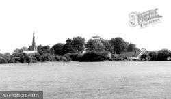 Sapcote, All Saints Church And The Playing Field c.1965