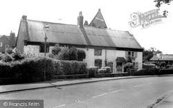 Sapcote, The Cottages c.1965