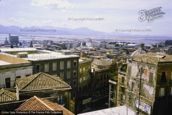 Photo of Sardinia, Cagliari, Rooftop View 1984