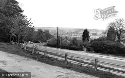 Sarisbury Green, Bridge Road c.1960, Sarisbury