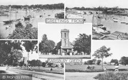 Sarisbury Green, Composite c.1955, Sarisbury