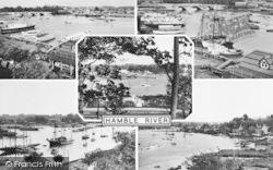 Sarisbury Green, Hamble River Composite c.1955, Sarisbury